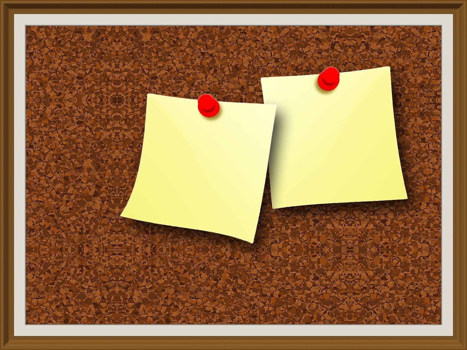 3 ferramentas de comunica o interna indispens veis for Aviso de ocacion mural